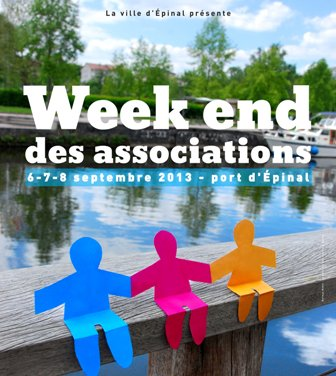 Weekend des Associations Epinal 2013