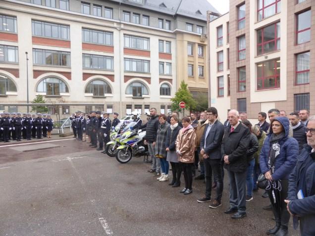 installation du commissaire divisionnaire Antoine Bonillo (32)