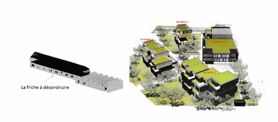 Plan du site (CAE)