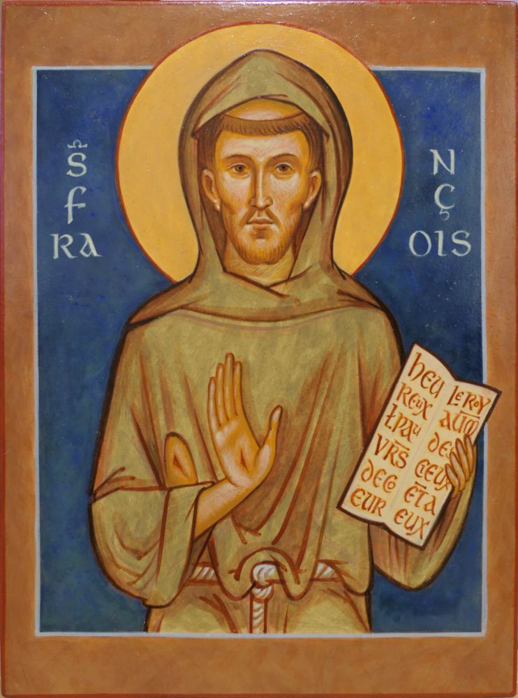 Philippe Lefebvre, iconographe et sculpteur sur bois d'art sacré, met son talent au service de la beauté, en particulier dans le cadre de la liturgie. Atelier Épiphanie Création