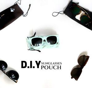 DIY Sunglasses Pouch