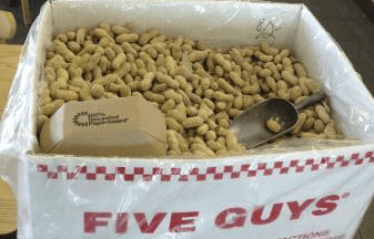 why five guys is