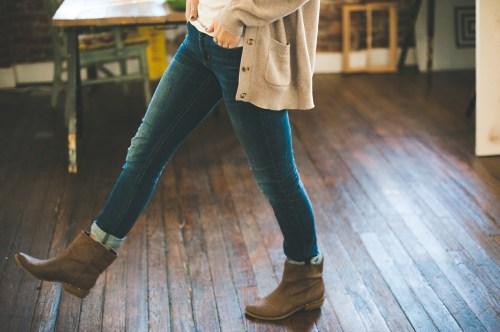 30代のママのファッションで「ダサ」と言われないジーンズのはき方