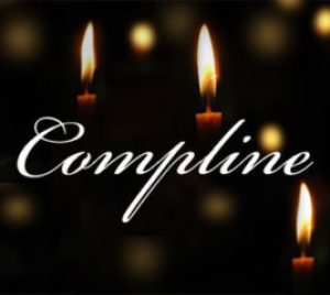 An image that says Compline on it.