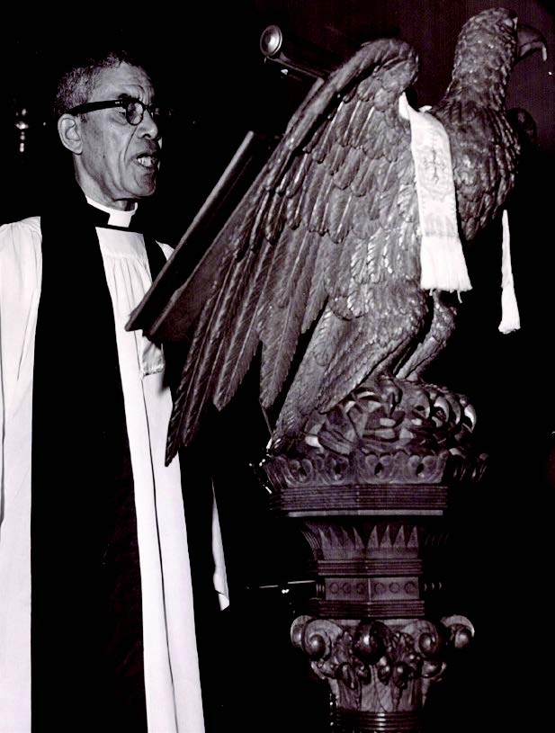 Reverend Aaron J. Cuffee, Rector at St. Mark's, 1964