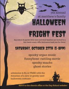 Fright Fest Poster 2018