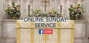 Sunday Service altar