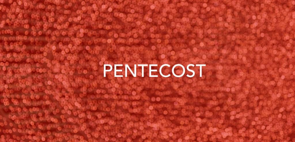 Wear Red on Pentecost!