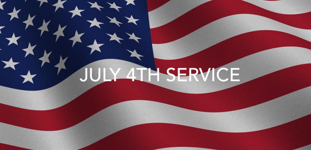 Sunday Service, July 4, 2021