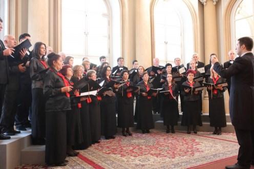 Corul Arhanghelii in concurs la Bratislava 2015