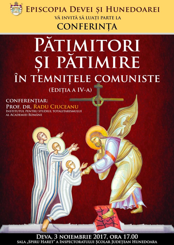 Afis Patimitori si Patimire ed 5.2