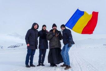 """Episcopul Macarie Drăgoi în slujire euharistică în arhipelagul Oceanului Arctic: """"Ne rugăm Celui ce este pretutindeni să apropie depărtările care ne despart și să topească ghețușul care a cuprins inimile noastre!"""""""