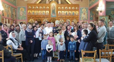 """His Grace Bishop Macarie: """"We are called to the Divine Liturgy where the heart of the whole universe beats!"""""""
