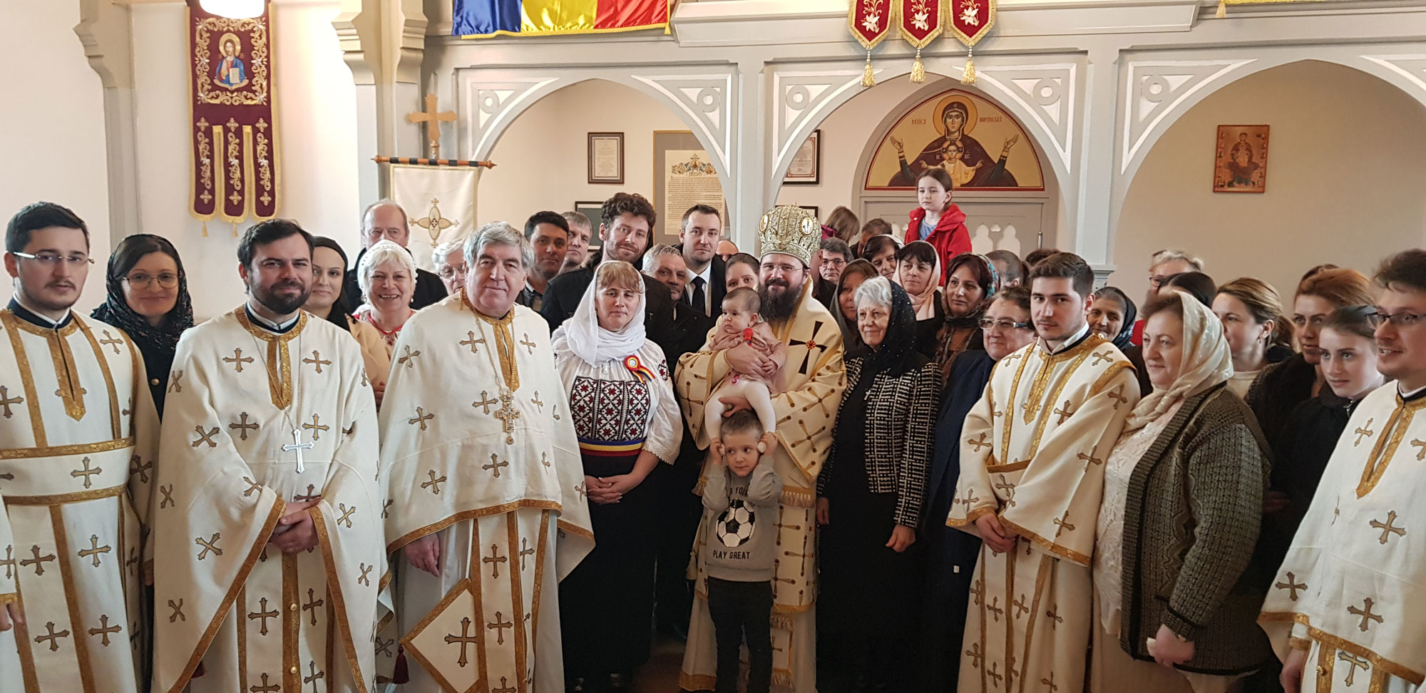 """His Grace Bishop Macarie: """"If we remain until the end on the painful path of Golgotha, ascending on the Cross, we will be raised with Christ"""""""