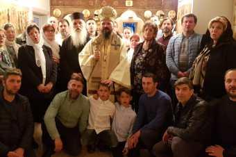 Părintele Damaschin Grigoriatul la românii din Suedia