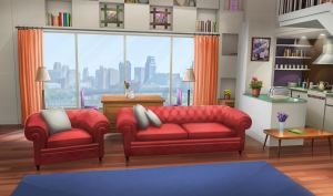 anime living apartment fancy bedroom aesthetic scenery int wallpapers episode interactive gacha backgrounds episodeinteractive kitchen drawing episodes night rooms darkness
