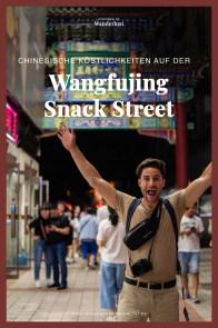 Peking Beijing Wangfujing Snack Street