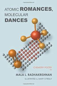 Cover of Atomic Romances, Molecular Dances by Mala Radhakrishnan.