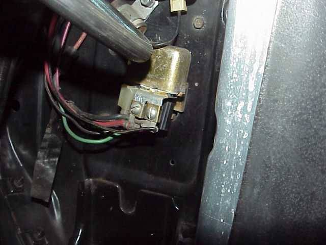 Camaro Power Accessory Feed Wire Horn Relay To Power Window 1967 1969
