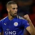 Islam Slimani Leicester City