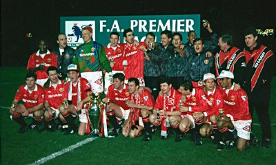 Manchester United 1992.1993 champions