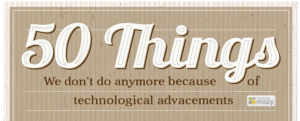 50 choses que nous arretons de faire grace aux nouvelles technologie- eplaneta.fr