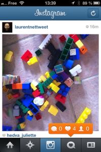 Timeline d'instagram sous IOS 6.1