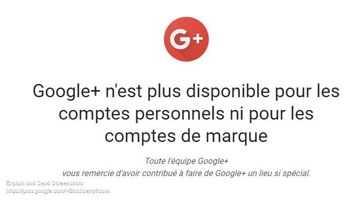 Google n'est plus