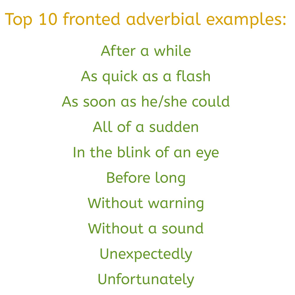 hight resolution of What are Fronted Adverbials? (Examples \u0026 Worksheets)