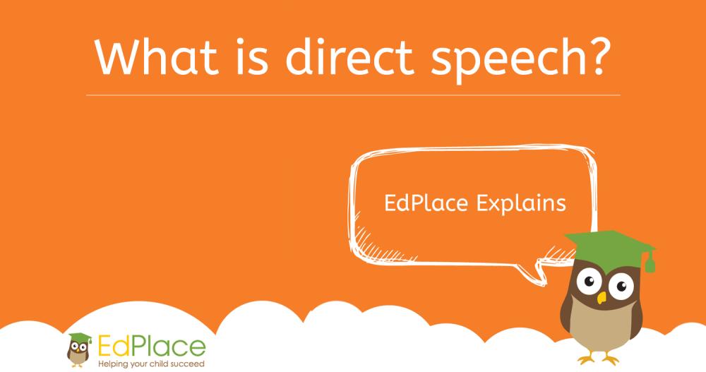 medium resolution of What is direct speech?