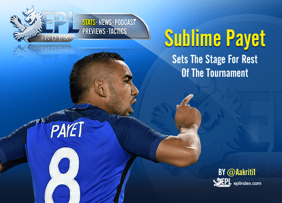 Sublime Payet Sets The Stage for Rest of Tournament