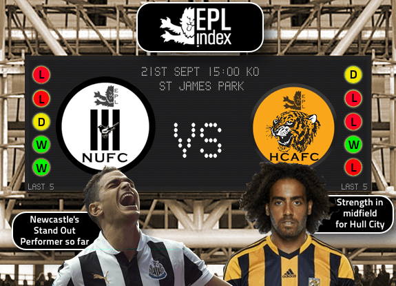 Newcastle Vs Hull City