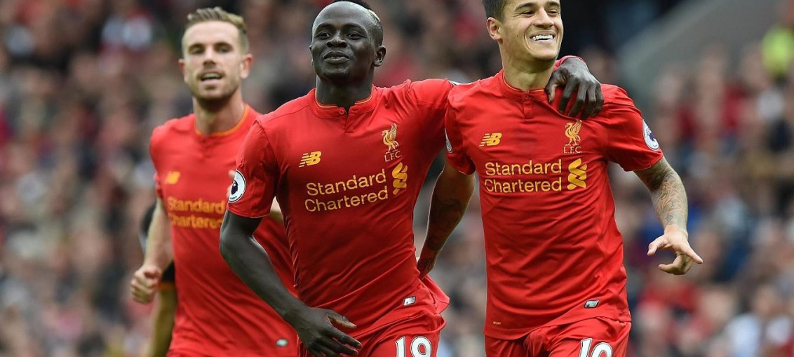Liverpool top of the league