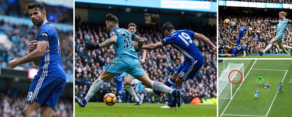Manchester City 1 Chelsea 3