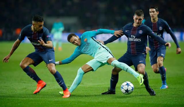 Neymar vs PSG