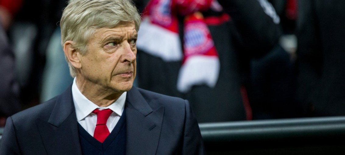 Arsene wenger Bayern munich sad