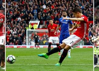 Man United 2 Chelsea 0