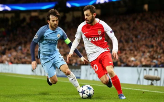 Bernardo silva with david silva