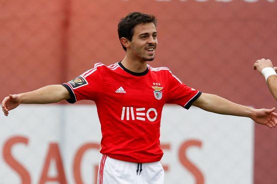 Bernardo Silva in Benfica