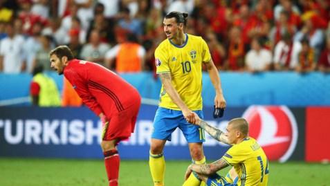 Lindelof and Zlatan