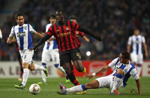 Danilo vs Manchester City at Porto