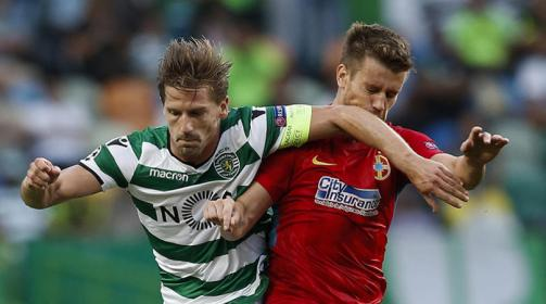 Adrien Silva playing for Sporting