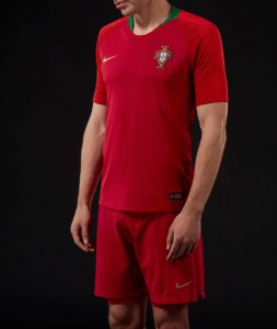 Portugal World Cup 2018 Home Kit