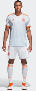 Spain World Cup 2018 Away Kit