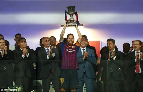 Messi Spanish Super cup