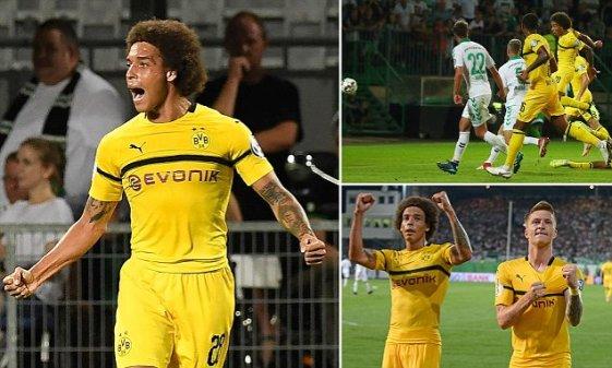 Witsel Returns for Dortmund