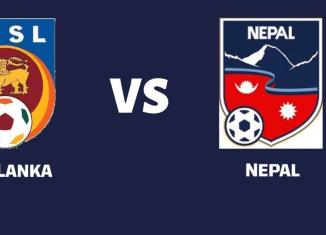 Nepal vs Sri Lanka Football SAG 2019