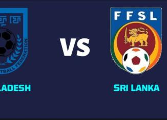 Bangladesh vs Sri Lanka SAG