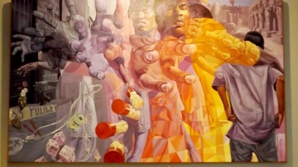 Art Exhibit Depicts Black-black Carnage Chicago Citizens Premier African