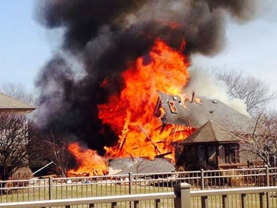 Natural gas buildup caused house explosion The Times